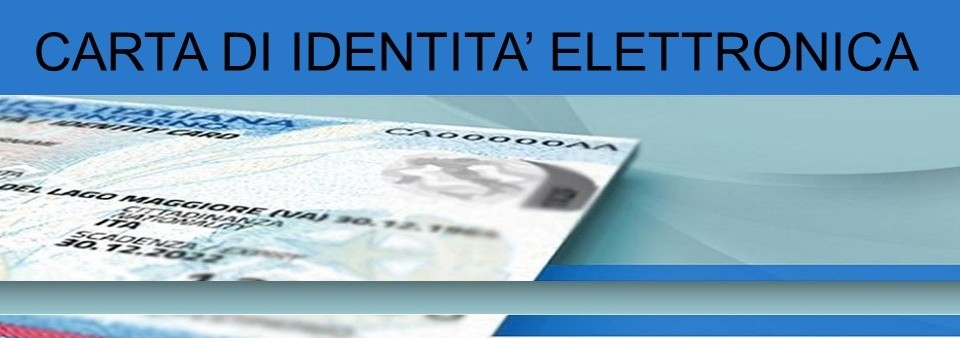 CIE - Carta di identità elettronica