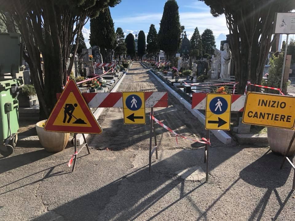 lavori cimitero
