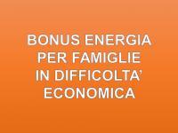BONUS ENERGIA