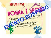 donna e sport sospeso