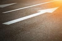 frecce strada