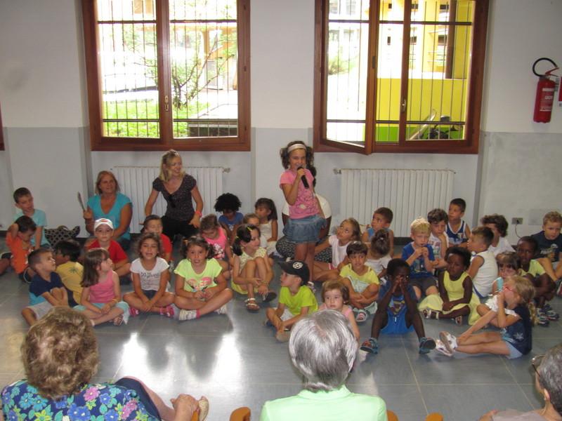 I bambini del centro estivo