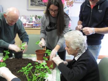 Laboratorio di giardinaggio